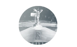 Rolls Royce badge