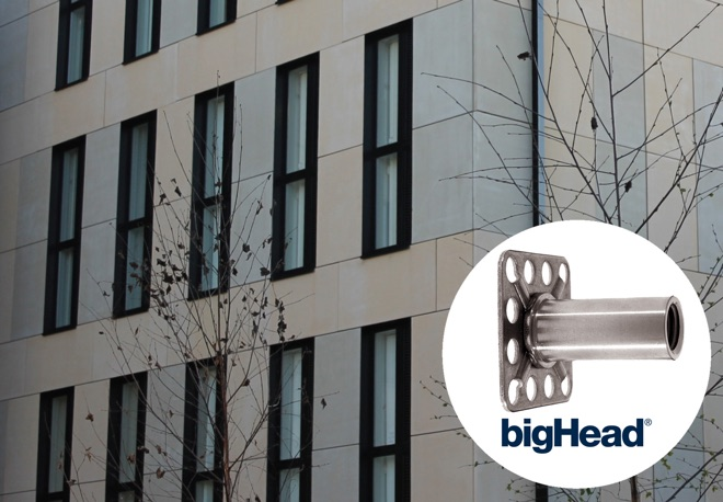Construction industry fastening solutions: bigHead® help